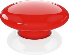 Red Alert Button Transparent